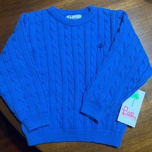 NWT Lilly Pulitzer Kids Cable Knit Sweater